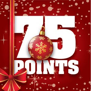 75 Point Items